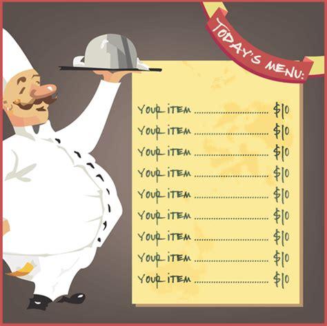 Restaurant Menu Template 8 Free Restaurant Menus Free Restaurant Menu Templates For Microsoft Word