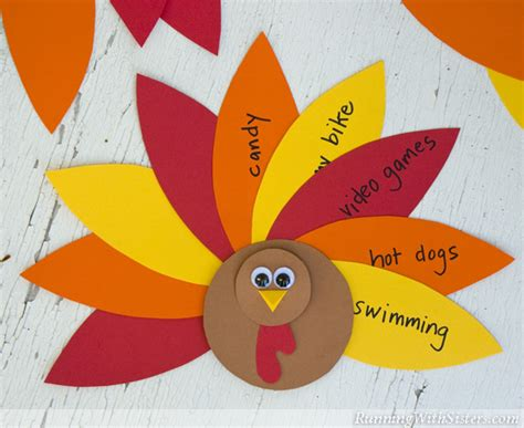 thankful turkey craft template gallery turkey craft template