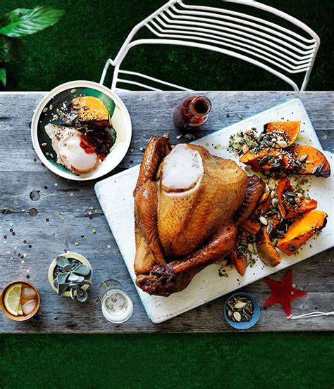back yard barbque christmas cider brined smoked turkey with cranberry barbecue sauce recipe turkey recipe
