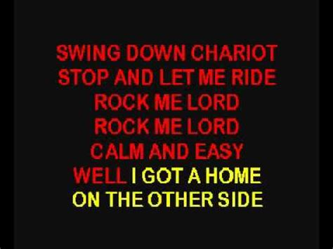 Elvis Presley Swing Down Sweet Chariot Youtube