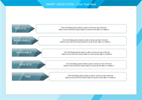 smart objectives template smart objectives free smart objectives templates