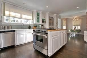 kitchen island with oven kitchen island oven transitional kitchen the semi