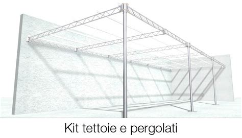 tettoie leggere kit per tettoie e pergolati tettofacile
