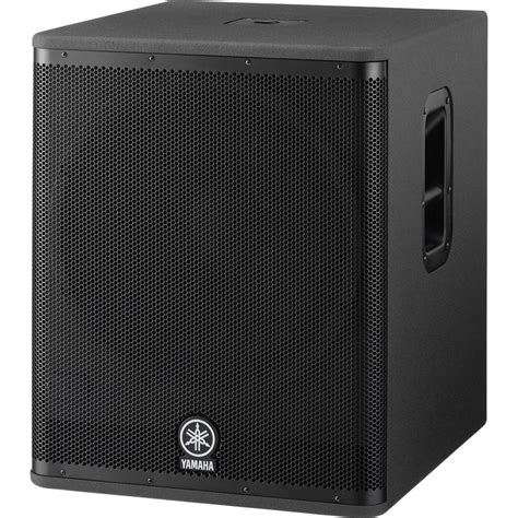 Speaker Yamaha 18 Inch yamaha dsr118w 18 quot 800w active subwoofer dsr118w b h photo