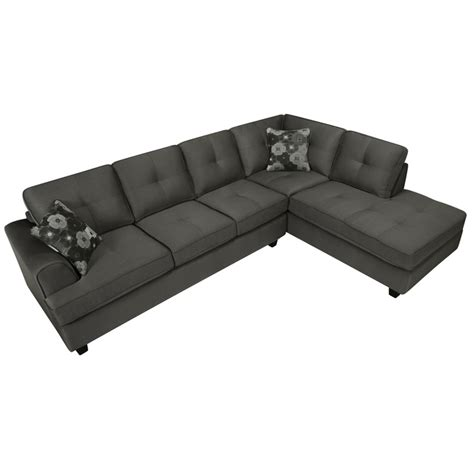 chase couch chase charcoal grey sectional sofa