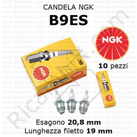 candela ngk b9es candele di accensione ngk ricambix
