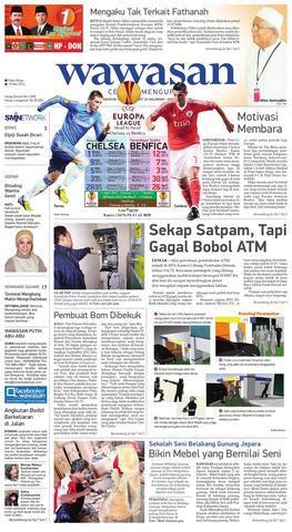 Baju Koko Al Luthfi Bm Al 06 wawasan 15 mei 2013 by koran pagi wawasan issuu