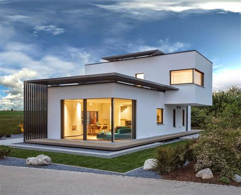 modern plan poing house by luxhaus home design magazine
