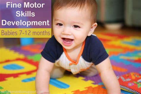 motor skills 12 months 12 month motor skills milestones development skills