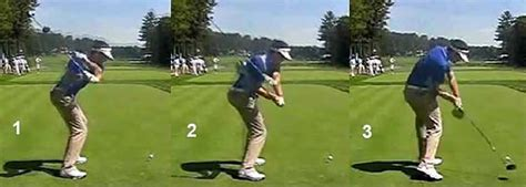 perfecting a golf swing downswing