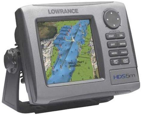 by type lowrance lowrance hds 5 fishfinder gps chartplotter without