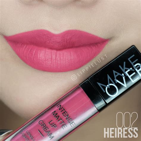 Lipstik Makeover Matte Lip swatched make matte lip lippielust
