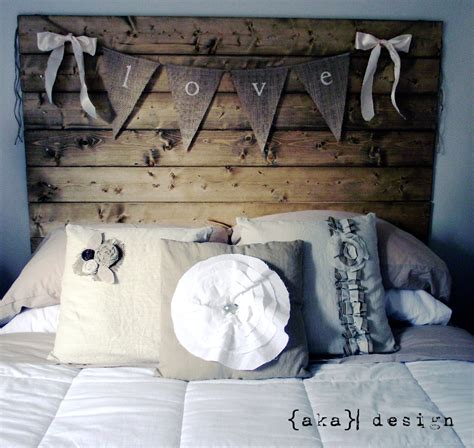 rustic wooden headboard aka design reclaimed headboard and more diy show