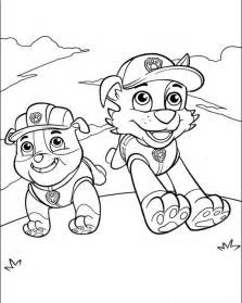 paw patrol coloring book free coloring pages of paw patrol cat rubble