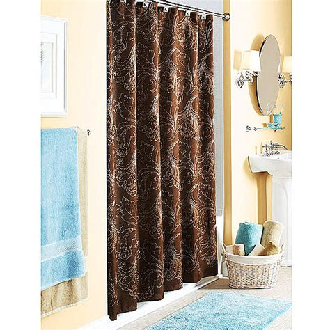 better homes and gardens shower curtain better homes and gardens pembroke embroidered shower