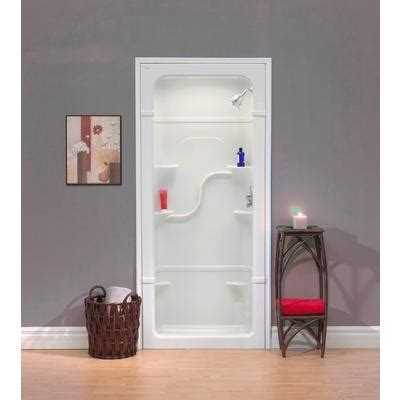 Mirolin 3 Shower Units by Mirolin 36 Inch 1 Pc Acrylic Shower Stall Home