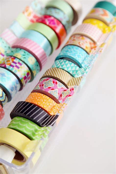 diy washi 20 washi tape tutorials u create