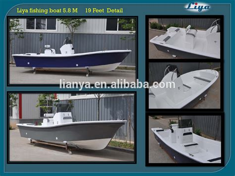 center console boats for sale europe liya 5 8m center console boat fiberglass fishing boats