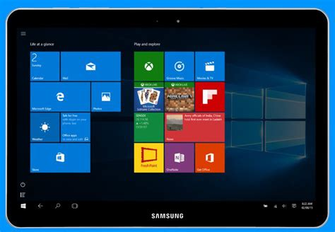 Tablet Samsung Windows 10 12 calowy tablet samsunga z windows 10 certyfikowany