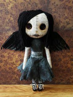 Creepy Handmade Dolls - handmade doll wren wren dolls and plushies