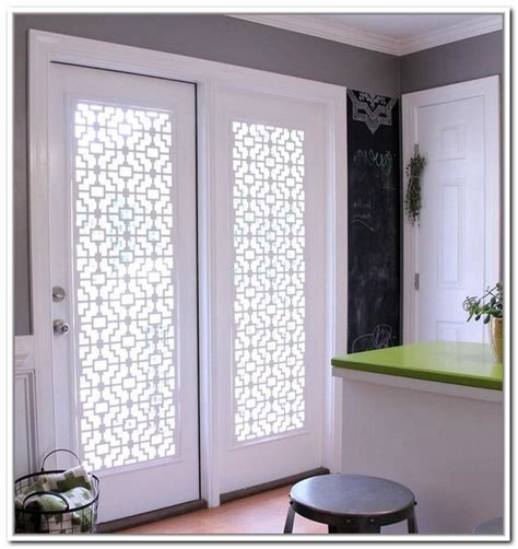 window glass covering simple glass door coverings homesfeed
