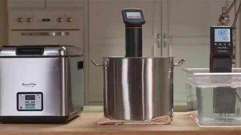 sousvide supreme compare sousvide supreme water ovens vs immersion