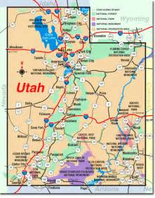 Utah Map With Cities by Road Map Of Utah Images