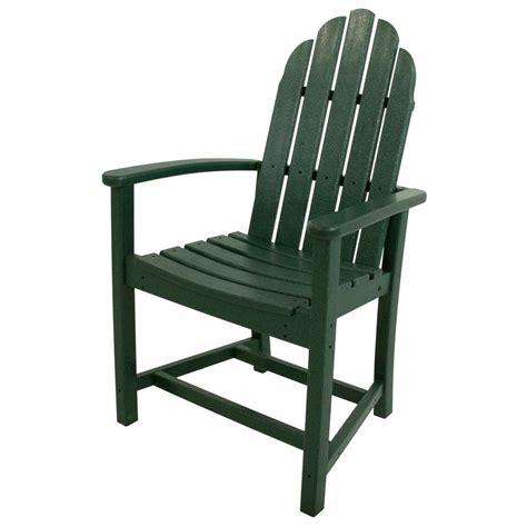 Polywood Long Island Mahogany Patio Dining Chair Ecd16ma Polywood Dining Chairs
