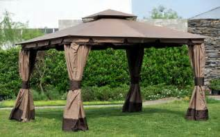 How To Make A Gazebo Canopy by Replacement Canopy Set For Sunjoy Monteray Gazebo L