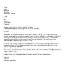 cover letters for applications sle cover letter