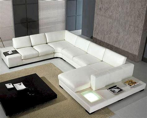 white leather couch set 5pc white leather sectional sofa set 44lt35whthl
