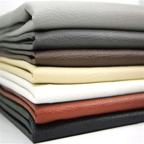 pu leather faux leather fabric for sewing pu artificial leather for diy bag material