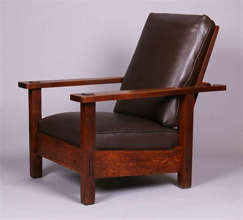 Stickley Morris Chair by Stickley Brothers Morris Chair California Historical Design
