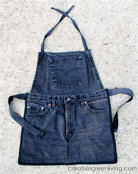 pattern for apron made from jeans farm kid aprons from recycled jeans creative green living