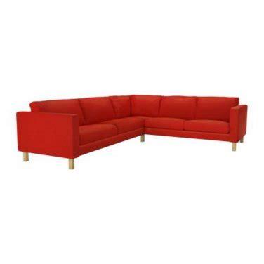 corner sofa slipcover ikea karlstad corner sofa slipcover cover korndal red 2 3