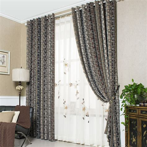 tall curtains gray botanical tall vintage curtains for bedroom