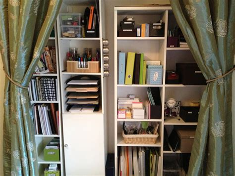 Supply Closet by Clutter Free And Awesome 12 Pretty Organised Spaces Mamamia
