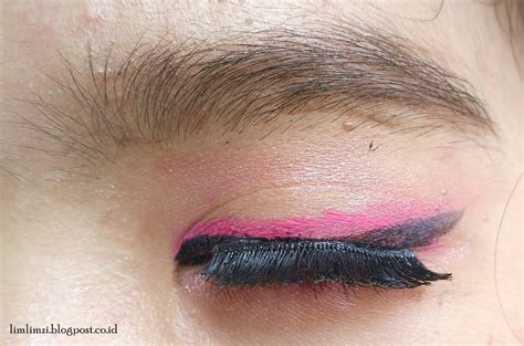 Bulu Mata Latihan makeup pink makeup ifbvalentinecollab pyramid limlimzi