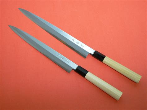 Tamahagane Kitchen Knives by Hidemitsu Traditional Japanese Knife