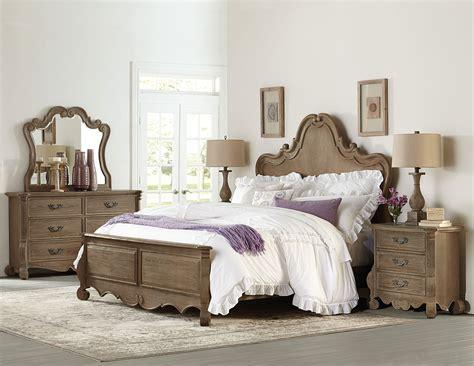 Bedroom Sets For Less by Homelegance Chrysanthe Bedroom Set Oak B1912 1 At