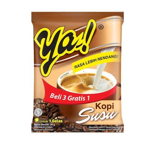 jual ya kopi susu  gram isi  sachetpack   pack