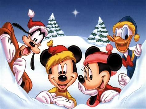 mickey s christmas wallpaper classic disney wallpaper