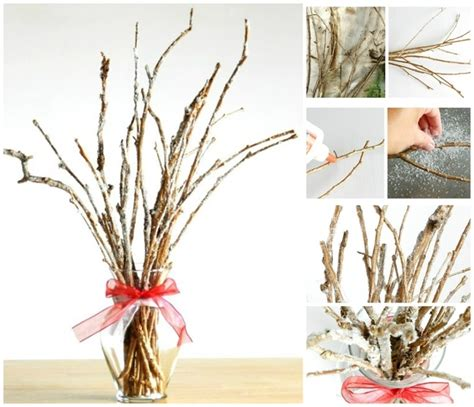 twig tree home decorating adorne your home with diy twig decorations homesthetics