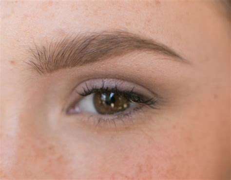 tutorial natural eyebrows natural brow beauty tutorial once wed