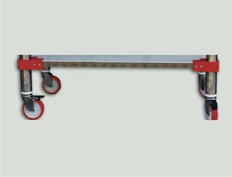 supporti per tavoli optional applicazioni ruote con supporti inox per tavoli