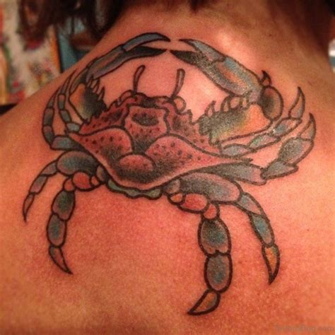 11 beautiful crab tattoos on neck