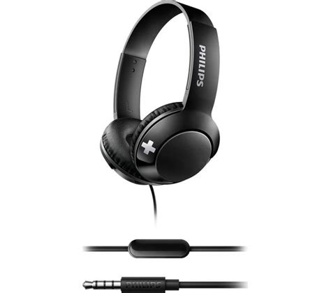 Philips She8500 Stereo Bass Earphone buy philips bass shl3075bk headphones black free delivery currys