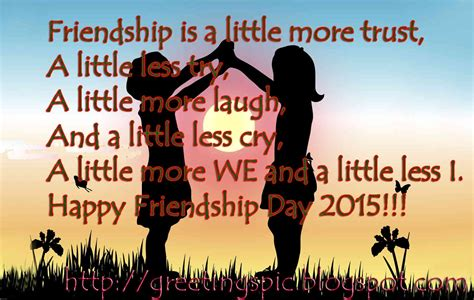 friendship day quotes with photos greetings wishes images