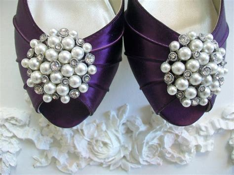 Handmade Wedding Accessories - pearl wedding accessories handmade etsy wedding finds shoe
