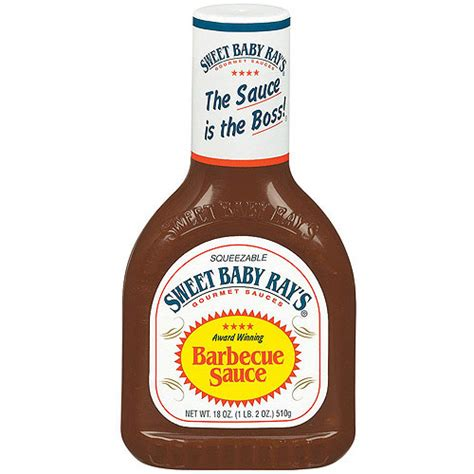 sweet baby ray s original barbecue sauce 18 oz walmart com